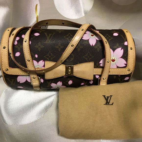 8424014b79cb Louis Vuitton Handbags - Louis Vuitton papillon cherry blossom tote